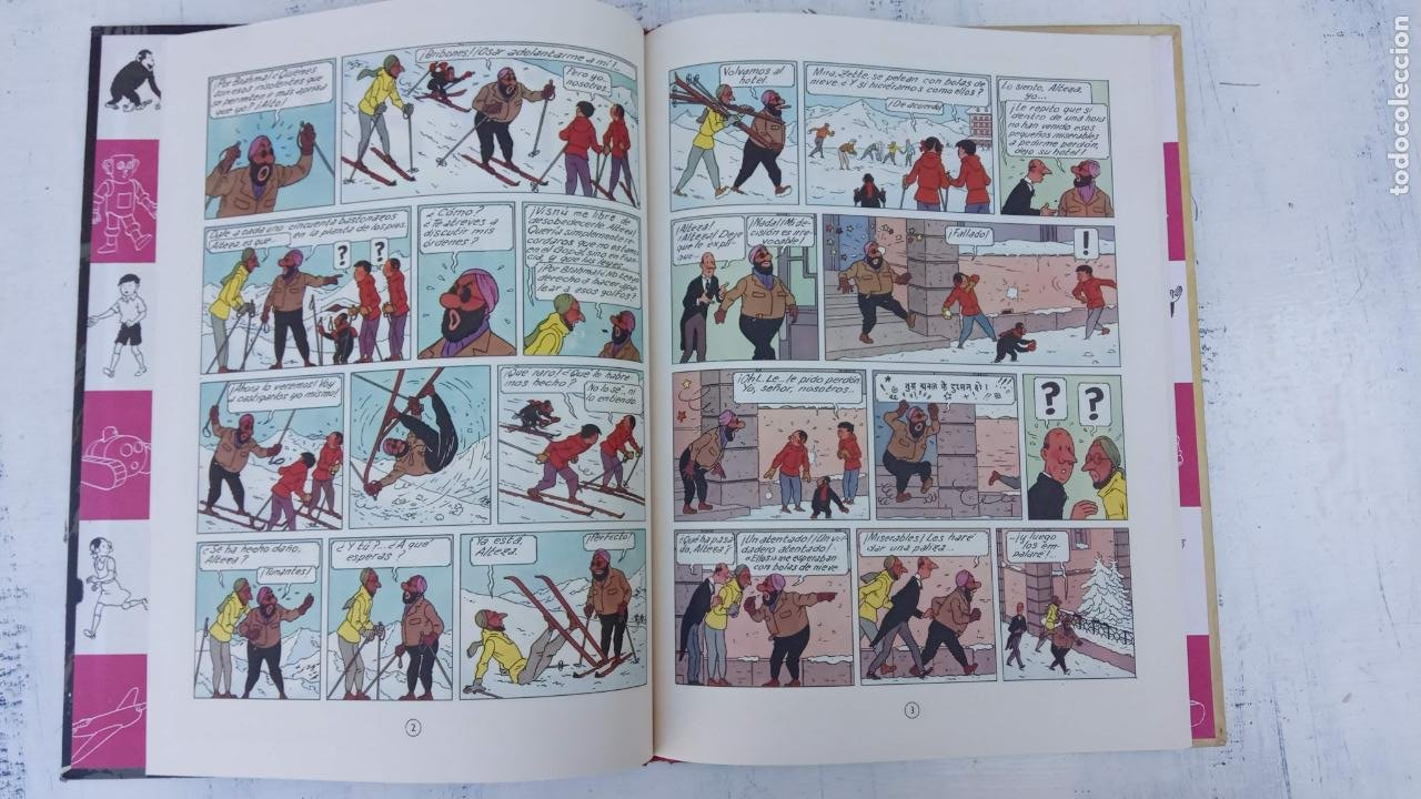 Cómics: LAS AVENTURAS DE JO, ZETTE Y JOCKO - HERGÉ- COMPLETA 1 AL 5 - EDI. JUVENTUD, MUY NUEVOS - Foto 34 - 211514536