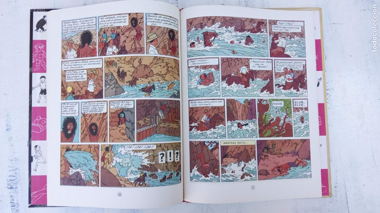 Cómics: LAS AVENTURAS DE JO, ZETTE Y JOCKO - HERGÉ- COMPLETA 1 AL 5 - EDI. JUVENTUD, MUY NUEVOS - Foto 35 - 211514536