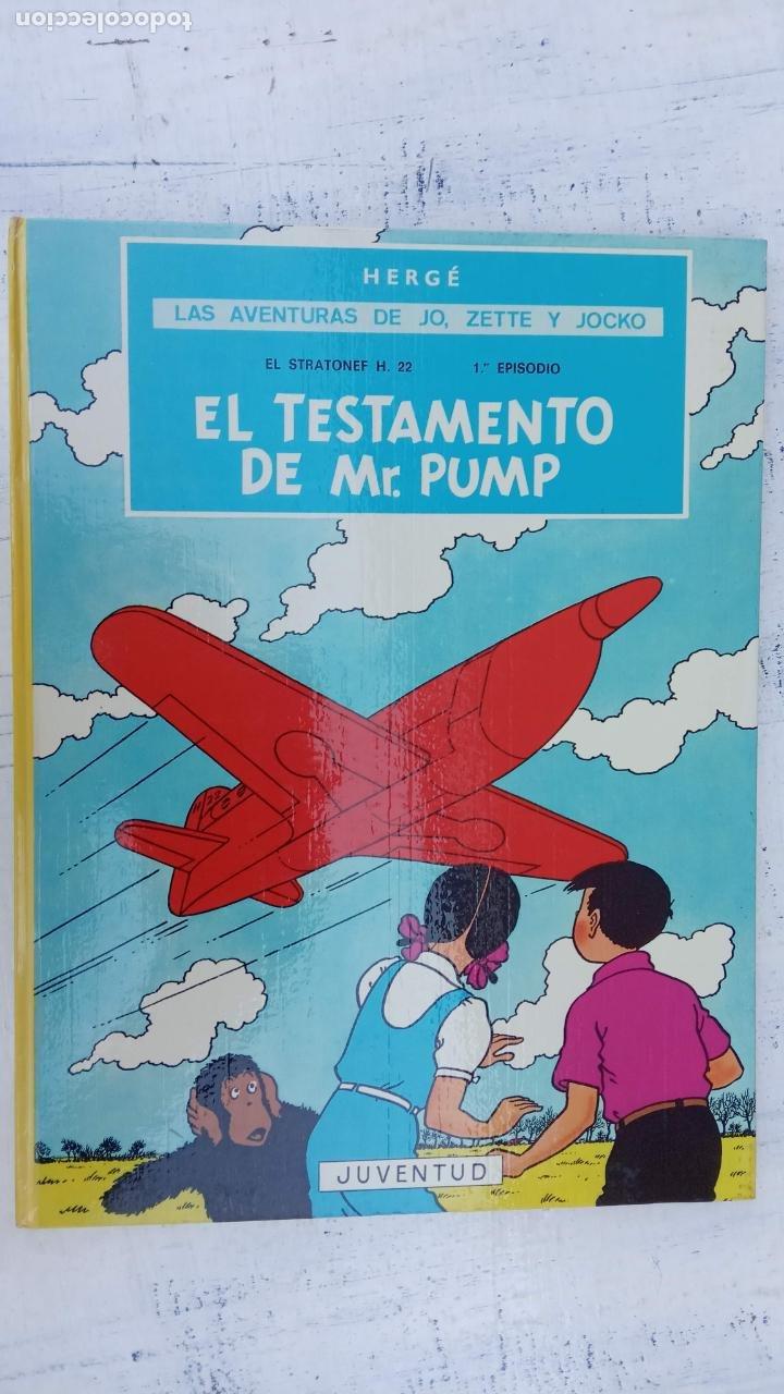 Cómics: LAS AVENTURAS DE JO, ZETTE Y JOCKO - HERGÉ- COMPLETA 1 AL 5 - EDI. JUVENTUD, MUY NUEVOS - Foto 37 - 211514536
