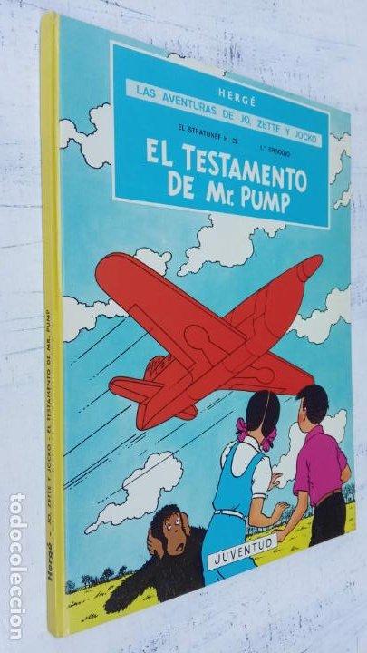 Cómics: LAS AVENTURAS DE JO, ZETTE Y JOCKO - HERGÉ- COMPLETA 1 AL 5 - EDI. JUVENTUD, MUY NUEVOS - Foto 38 - 211514536