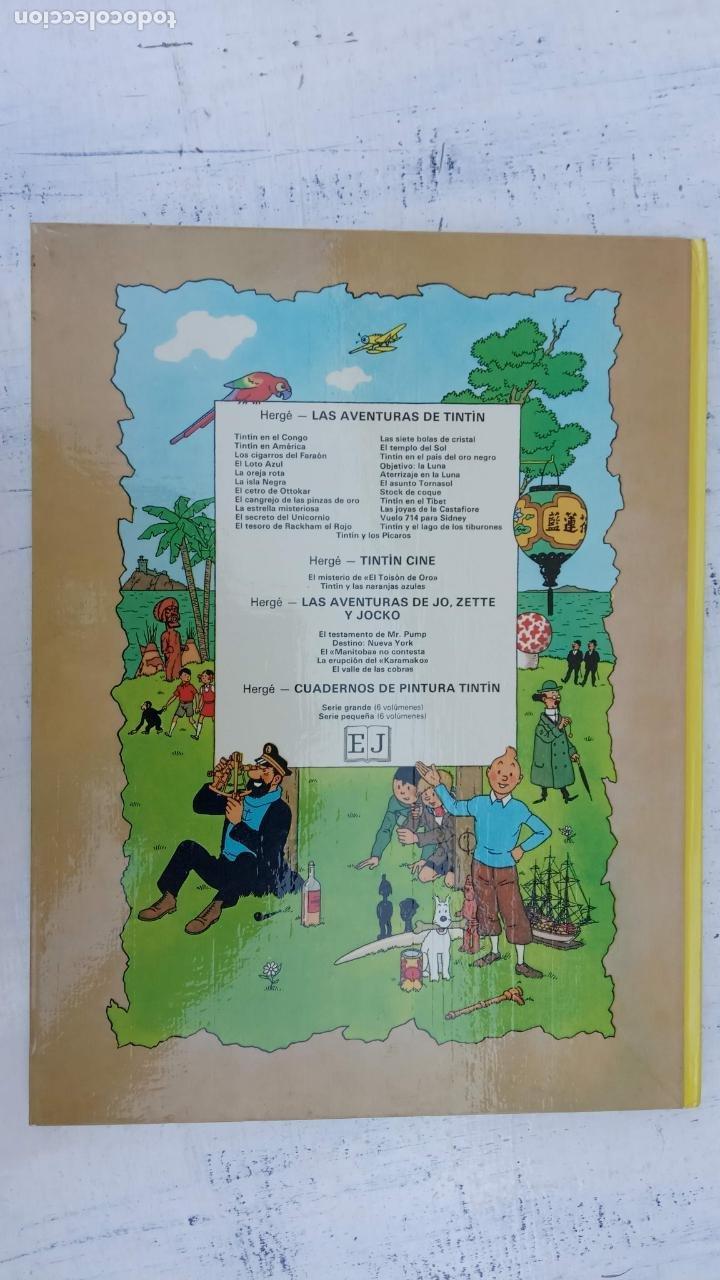 Cómics: LAS AVENTURAS DE JO, ZETTE Y JOCKO - HERGÉ- COMPLETA 1 AL 5 - EDI. JUVENTUD, MUY NUEVOS - Foto 39 - 211514536