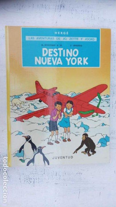 Cómics: LAS AVENTURAS DE JO, ZETTE Y JOCKO - HERGÉ- COMPLETA 1 AL 5 - EDI. JUVENTUD, MUY NUEVOS - Foto 47 - 211514536