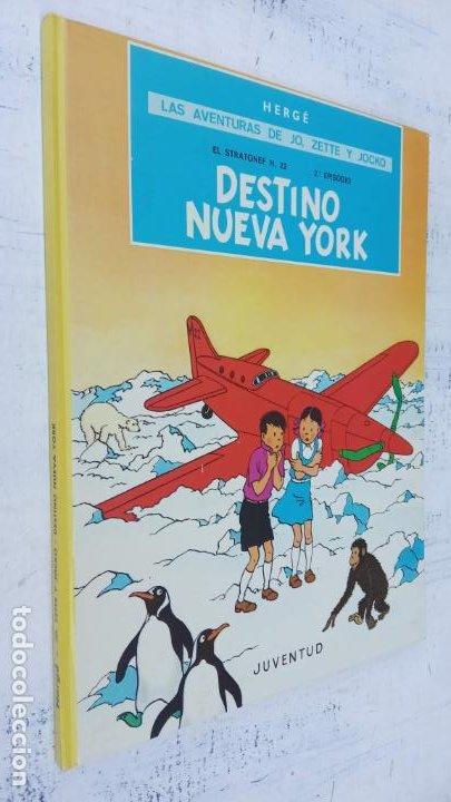 Cómics: LAS AVENTURAS DE JO, ZETTE Y JOCKO - HERGÉ- COMPLETA 1 AL 5 - EDI. JUVENTUD, MUY NUEVOS - Foto 48 - 211514536