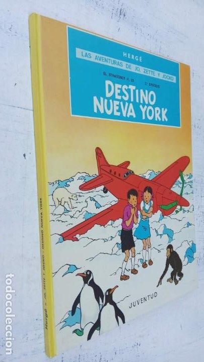 Cómics: LAS AVENTURAS DE JO, ZETTE Y JOCKO - HERGÉ- COMPLETA 1 AL 5 - EDI. JUVENTUD, MUY NUEVOS - Foto 49 - 211514536