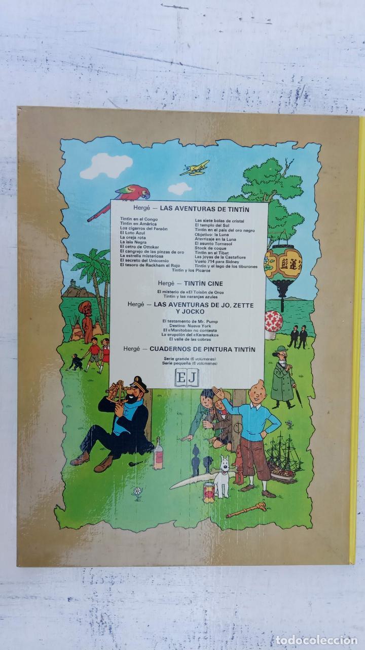 Cómics: LAS AVENTURAS DE JO, ZETTE Y JOCKO - HERGÉ- COMPLETA 1 AL 5 - EDI. JUVENTUD, MUY NUEVOS - Foto 50 - 211514536