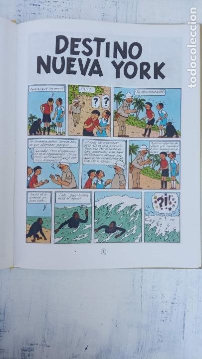 Cómics: LAS AVENTURAS DE JO, ZETTE Y JOCKO - HERGÉ- COMPLETA 1 AL 5 - EDI. JUVENTUD, MUY NUEVOS - Foto 51 - 211514536