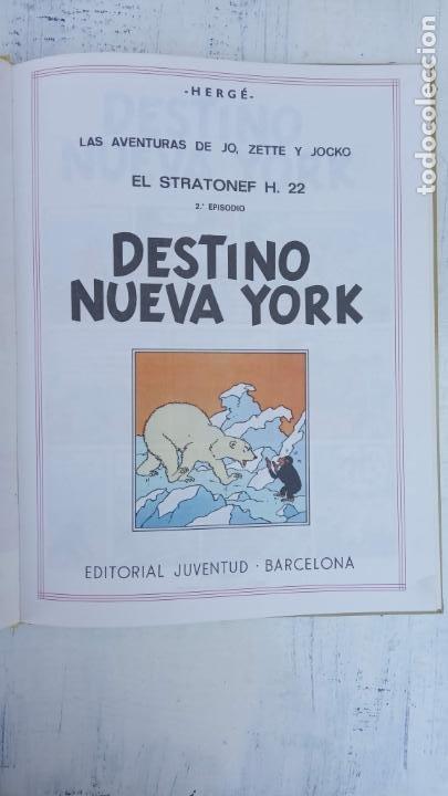 Cómics: LAS AVENTURAS DE JO, ZETTE Y JOCKO - HERGÉ- COMPLETA 1 AL 5 - EDI. JUVENTUD, MUY NUEVOS - Foto 52 - 211514536