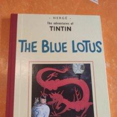 Cómics: TINTIN IDIOMAS - THE BLUE LOTUS - FACSIMIL INGLES - CASTERMAN 2006 .. Lote 211955436