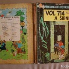 Cómics: TINTIN,VOL 714 A SIDNEY, PRIMERA EDICIÓN MAYO 1969. EN CATALAN.. Lote 212248345