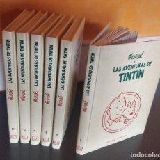 Cómics: **COLECCION COMPLETA** TINTIN 6 TOMOS (24 TÍTULOS) EN GUAFLEX EDITORIAL JUVENTUD. Lote 212784641