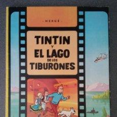 Cómics: TINTIN Y EL LAGO DE LOS TIBURONES HERGÉ. Lote 213736667