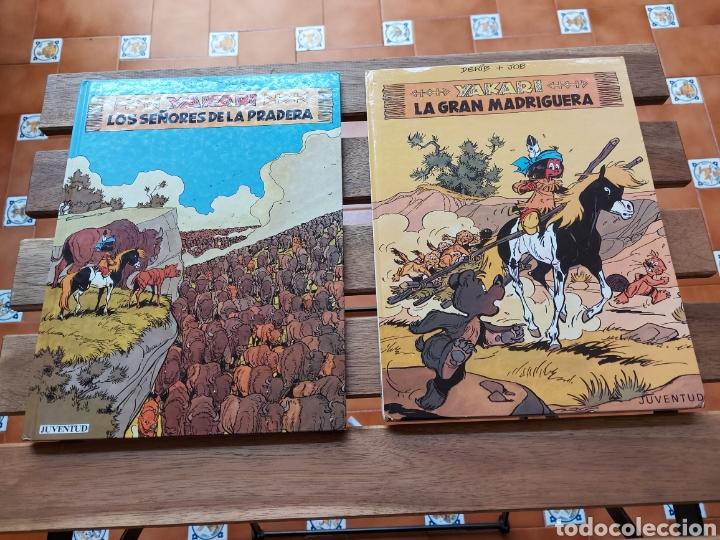 YAKARI LOTE DE 2 COMIC (LOS SEÑORES DE LA PRADERA)Y (LA GRAN MADRIGUERA) JUVENTUD DERIB + JOB (Tebeos y Comics - Juventud - Yakary)