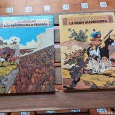 Cómics: YAKARI LOTE DE 2 COMIC (LOS SEÑORES DE LA PRADERA)Y (LA GRAN MADRIGUERA) JUVENTUD DERIB + JOB. Lote 213873986