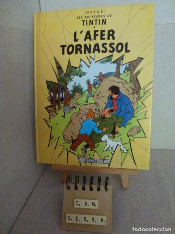 TINTÍN - HERGÉ - L'AFER TORNASSOL - LOMO SIMIL TELA REEDICIÓN - 11ª 1993 - CATALÀ (Tebeos y Comics - Juventud - Tintín)