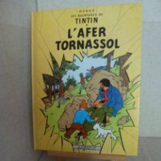 Cómics: TINTÍN - HERGÉ - L'AFER TORNASSOL - LOMO SIMIL TELA REEDICIÓN - 11ª 1993 - CATALÀ. Lote 213980538
