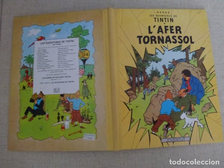 Cómics: TINTÍN - HERGÉ - LAFER TORNASSOL - LOMO SIMIL TELA REEDICIÓN - 11ª 1993 - Català - Foto 3 - 213980538