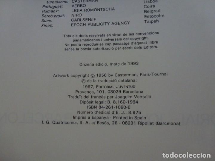 Cómics: TINTÍN - HERGÉ - LAFER TORNASSOL - LOMO SIMIL TELA REEDICIÓN - 11ª 1993 - Català - Foto 5 - 213980538
