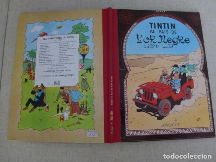 Cómics: TINTÍN AL PAIS DE LOR NEGRE - HERGÉ - LOMO SIMIL TELA REEDICIÓN - 11ª 1995 - Català - Foto 3 - 213981318