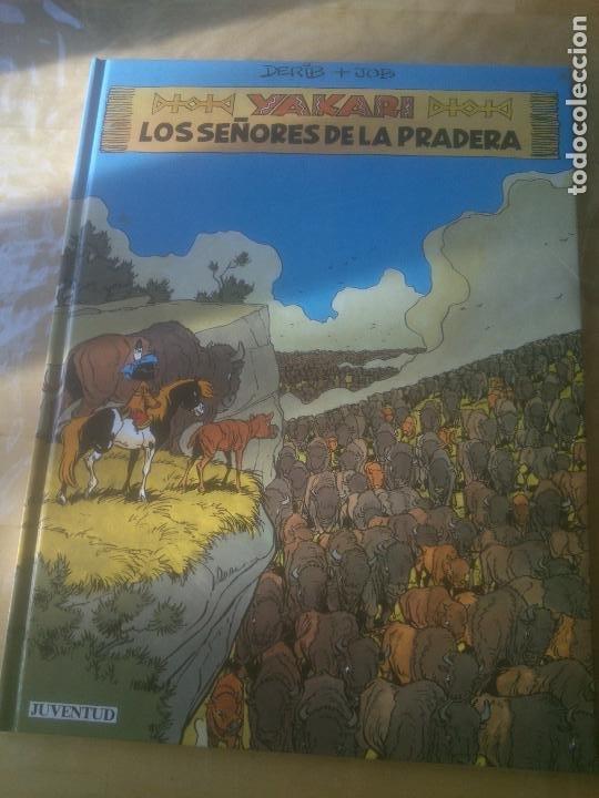 YAKARI 13. LOS SEÑORES DE LA PRADERA (DERIB / JOB) JUVENTUD, 1991 (Tebeos y Comics - Juventud - Yakary)