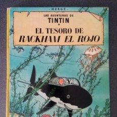 Cómics: EL TESORO DE RACKHAM EL ROJO LAS AVENTURAS DE TINTIN HERGÉ. Lote 214287143