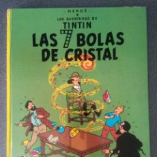Cómics: LAS 7 BOLAS DE CRISTAL LAS AVENTURAS DE TINTIN HERGÉ. Lote 214288005