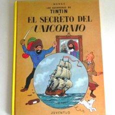 Cómics: CÓMIC EL SECRETO DEL UNICORNIO - TINTIN AVENTURA HUMOR HERGÉ - EDITORIAL JUVENTUD - BARCO TAPA DURA. Lote 214403445