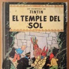 Cómics: LES AVENTURES DE TINTIN - EL TEMPLE DEL SOL - HERGÉ - JUVENTUD 1965 - CATALÀ. Lote 214406257