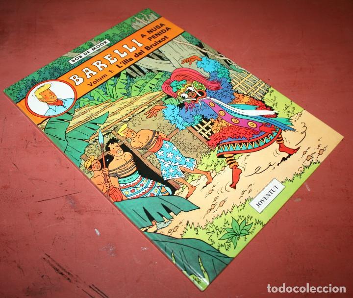 Cómics: BARELLI A NUSA PENIDA VOLUM 1: LILLA DEL BRUIXOT - BOB DE MOOR - JOVENTUT - 1990 - EN CATALÁN - Foto 3 - 214863547