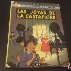 Cómics: TINTIN LAS JOYAS DE LA CASTAFIORE. 9ª EDICION- EDITORIAL JUVENTUD. HERGÉ. 1985. TAPA DURA. Lote 215102802