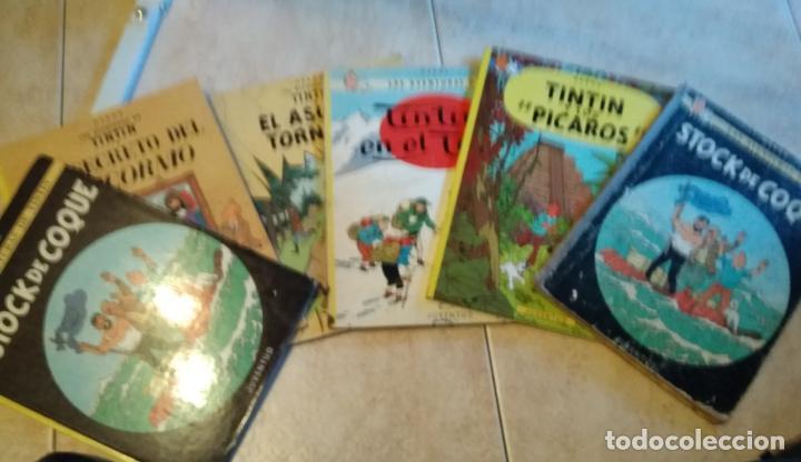 6 CÓMICS DE TINTÍN ANTIGUOS (Tebeos y Comics - Juventud - Tintín)