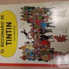 Cómics: EL DICCIONARIO DE TINTIN. TONI COSTA. JUVENTUD. PRIMERA EDICIÓN. Lote 215649422