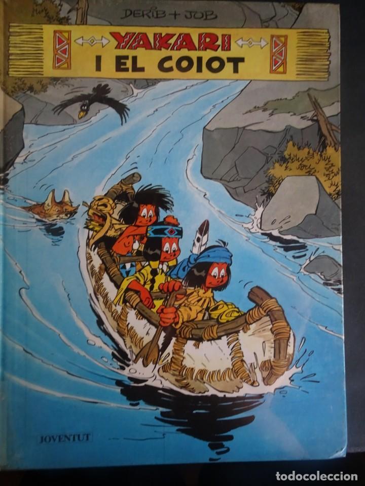 YAKARI I EL COIOT Nº 12 DERIB +JOB . 1ª EDICIO 1990 JOVENTUT , CATALÁ, VER FOTOS (Tebeos y Comics - Juventud - Yakary)