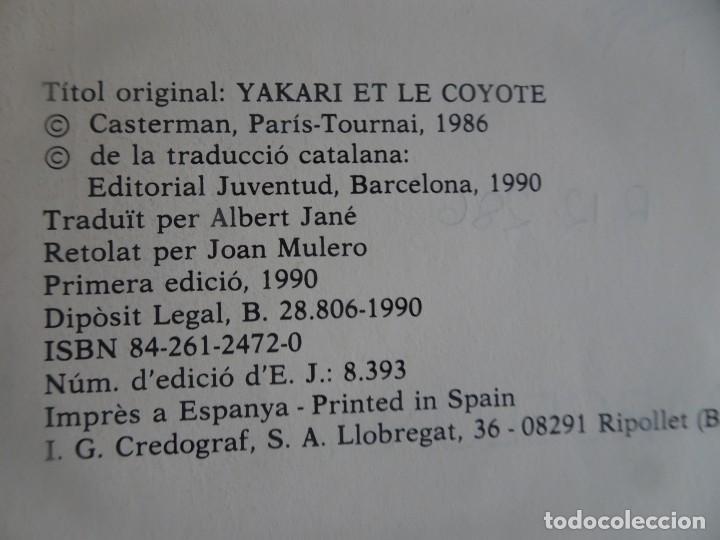 Cómics: YAKARI I EL COIOT Nº 12 DERIB +JOB . 1ª EDICIO 1990 JOVENTUT , CATALÁ, VER FOTOS - Foto 3 - 215736352