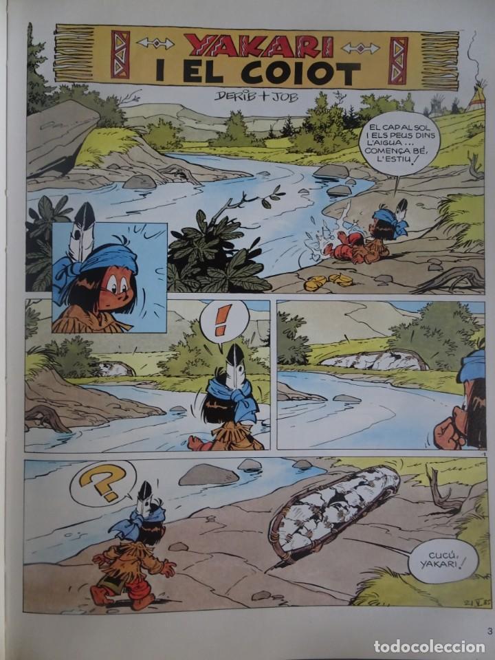 Cómics: YAKARI I EL COIOT Nº 12 DERIB +JOB . 1ª EDICIO 1990 JOVENTUT , CATALÁ, VER FOTOS - Foto 4 - 215736352