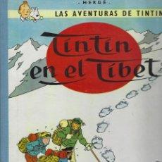 Cómics: TINTIN EN EL TIBET.LOMO DE TELA. 2ª EDICION DE 1965. TAPA DURA. MUY BUEN ESTADO. Lote 215761872