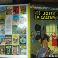 Cómics: LES AVENTURES DE TINTIN. .LES JOIES DE LA CASTAFIORE. EDITORIAL JOVENTUD. DESENA EDICIO 1989.. Lote 215896482