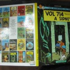 Cómics: LES AVENTURES DE TINTIN. .VOL 714 A SIDNEY.. EDITORIAL JOVENTUD. DESENA EDICIO 1990.. Lote 215896707