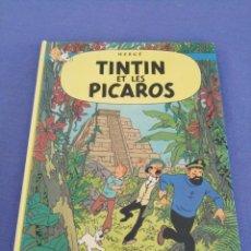 Cómics: TINTIN ET LES PICAROS. EDITORIAL CASTERMAN. AÑO 1976. EN FRANCÉS. Lote 215979017