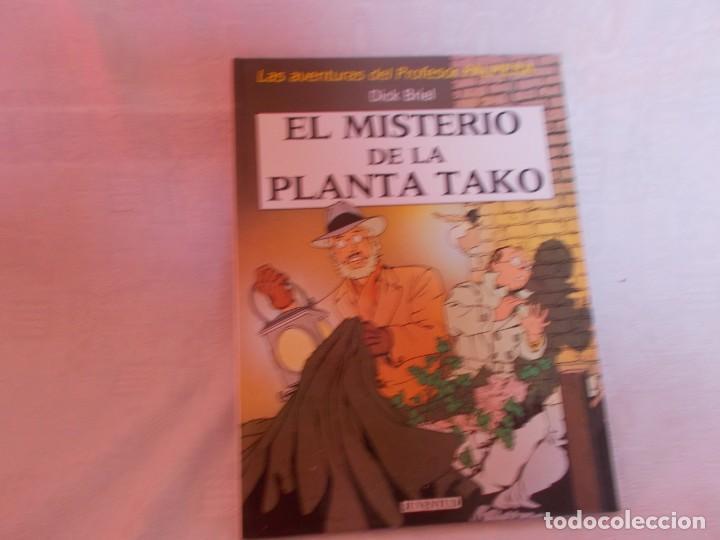 LAS AVENTURAS DEL PROFESOR PALMERA EL MISTERIO DE LA PLANTA TAKO (Tebeos y Comics - Juventud - Otros)