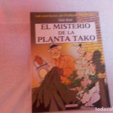 Cómics: LAS AVENTURAS DEL PROFESOR PALMERA EL MISTERIO DE LA PLANTA TAKO. Lote 216373973