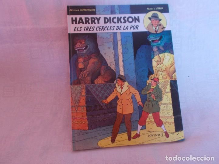 HARRY DICKSON Nº 3 ELS TRES CERCLES DE LA POR (Tebeos y Comics - Juventud - Otros)
