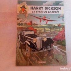 Cómics: HARRY DICKSON Nº 1 LA BANDA DE LA ARAÑA. Lote 216407462