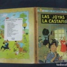 Cómics: LAS AVENTURAS DE TINTIN. HERGE. LAS JOYAS DE LA CASTAFIORE. EDITORIAL JUVENTUD 2ª EDICION SEPT. 1965. Lote 216414370