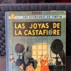 Cómics: TINTIN LAS JOYAS DE LA CASTAFIORE ED. JUVENTUD 1ª EDICION DE 1964. Lote 216414376