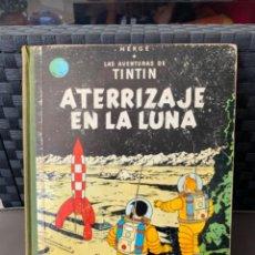 Cómics: TINTIN ATERRIZAJE EN LA LUNA ED. JUVENTUD EDICION DE 1965. Lote 216415176