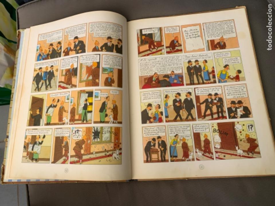 Cómics: TINTIN EL CETRO DE OTTOKAR , HERGÉ ED. JUVENTUD 4ª EDICION DE 1968 - Foto 4 - 216451231