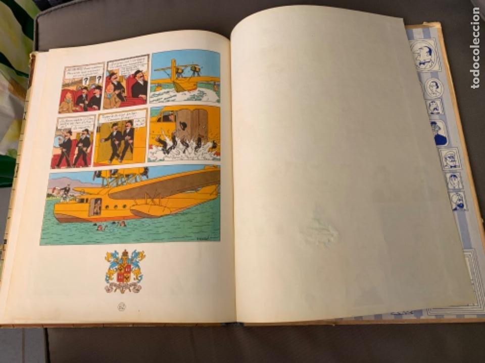 Cómics: TINTIN EL CETRO DE OTTOKAR , HERGÉ ED. JUVENTUD 4ª EDICION DE 1968 - Foto 6 - 216451231
