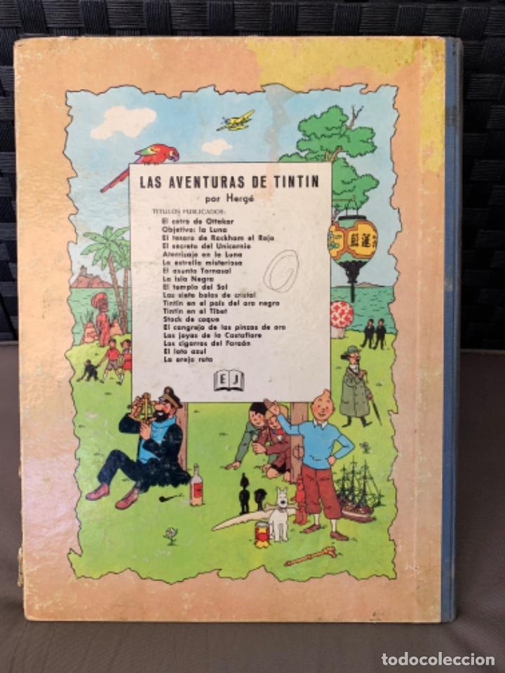 Cómics: TINTIN EL CETRO DE OTTOKAR , HERGÉ ED. JUVENTUD 4ª EDICION DE 1968 - Foto 7 - 216451231