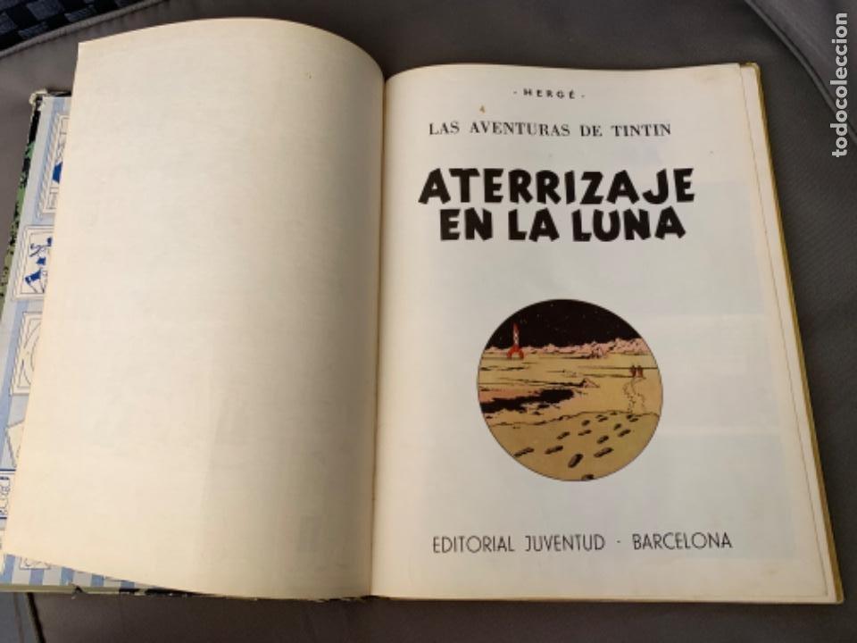 Cómics: TINTIN ATERRIZAJE EN LA LUNA , HERGÉ ED. JUVENTUD 5ª EDICION 1970 - Foto 2 - 216586632
