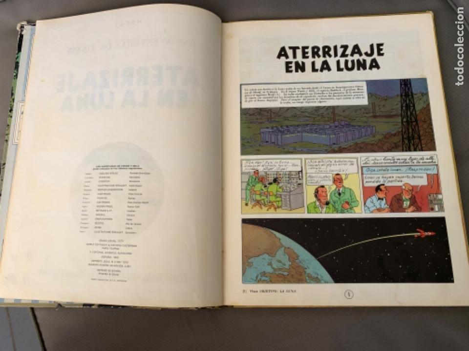 Cómics: TINTIN ATERRIZAJE EN LA LUNA , HERGÉ ED. JUVENTUD 5ª EDICION 1970 - Foto 3 - 216586632